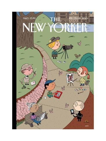 The New Yorker Cover - February 15, 2010 Giclee Print