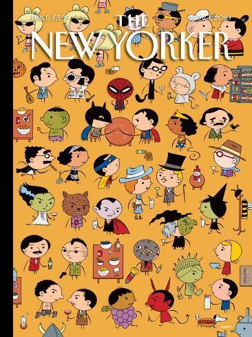 The New Yorker Cover - November 1, 2010 Giclee Print