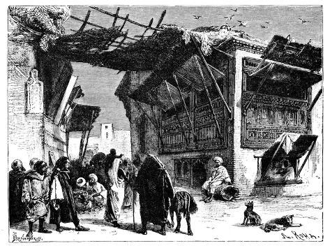 A School in Fez, Morocco, 1895 Giclee Print