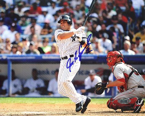 Ivan Rodriguez Yankees Autographed Photo (Hand Signed Collectable) Foto