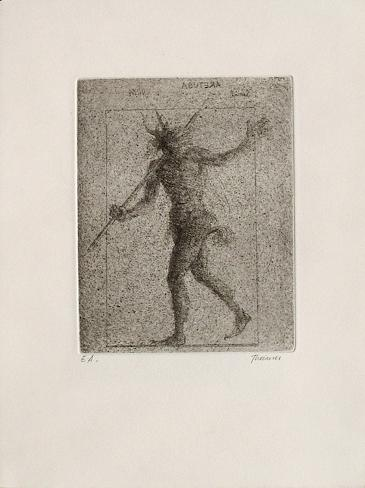 Minautore portant bâton (2ème état) Edición prémium