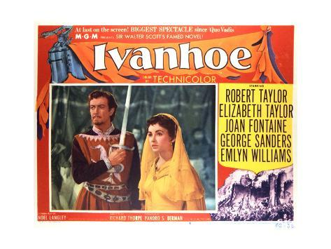Ivanhoe - Lobby Card Reproduction Art Print