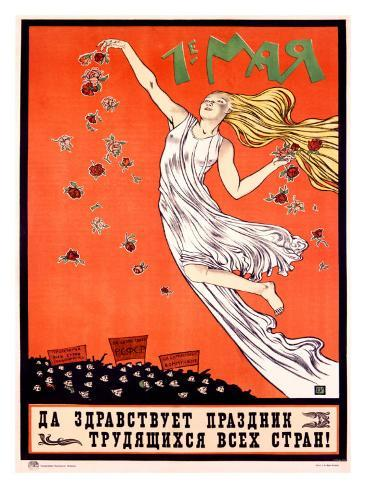 May Day: Long Live the Festival of the Workers of All Countries Giclee Print