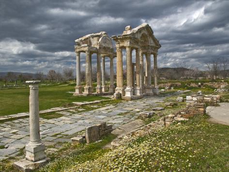 Aphrodisias Tetrapylon Photographic Print