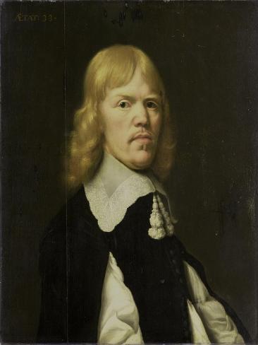 Portrait of a Man, Art Print