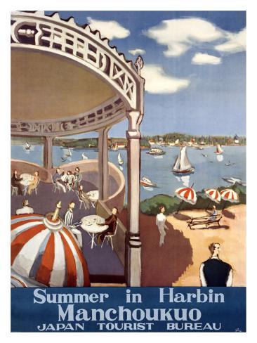 Summer in Harbin Giclee Print