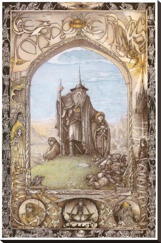 The Lord of the Rings Impressão em tela esticada