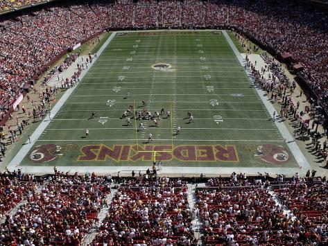 Washington Redskins--FedExField: Landover, MARYLAND - FedEx Field Stretched Canvas Print