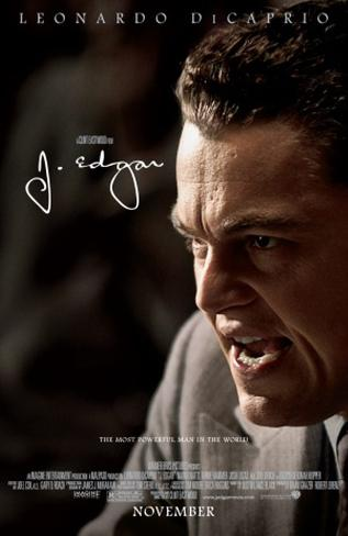 J. Edgar Double-sided poster