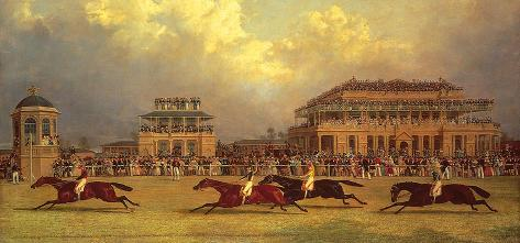 The Doncaster Gold Cup of 1838 Premium Giclee Print