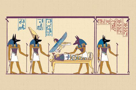 Anubis Wall Decal