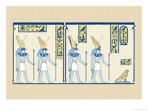 Horus Art Print