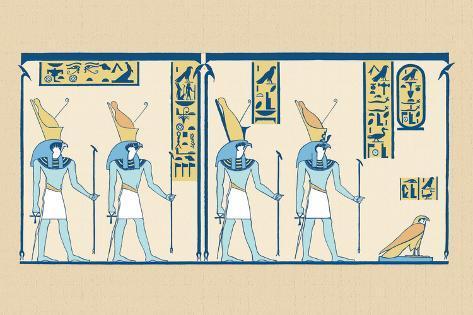 Horus Wall Decal
