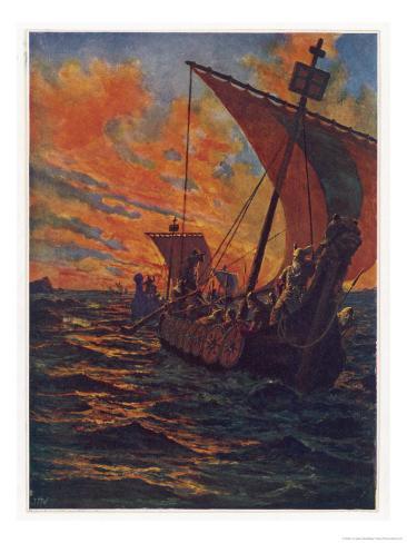 Dawn Raiders Giclee Print