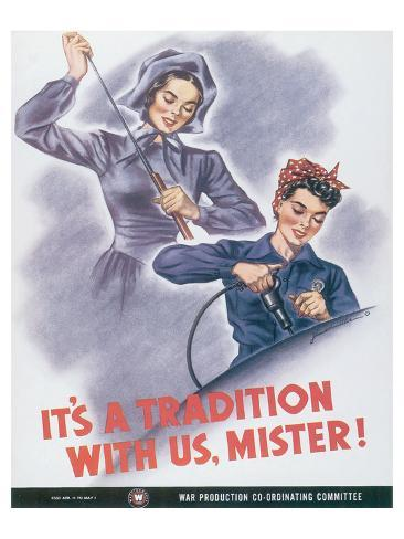 It's A Tradition With Us, Mister! Premium Giclee Print