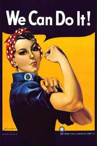 Rosie the Riveter (1944) Poster