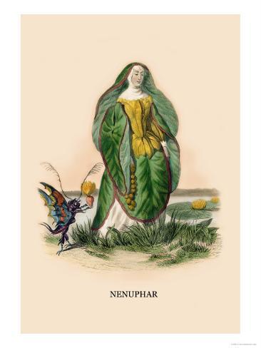 Nenuphar Art Print