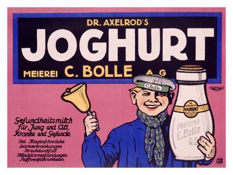 Joghurt Giclée-vedos