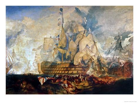 Battle of Trafalgar, 21 October 1805 Giclee Print
