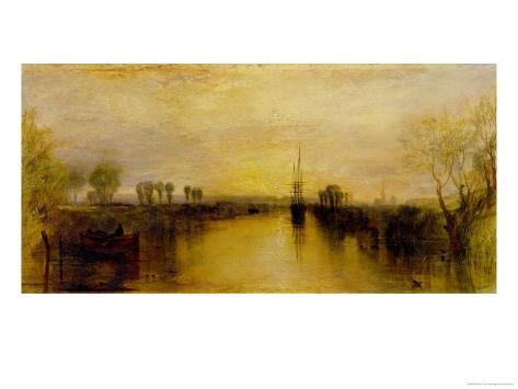 Chichester Canal, circa 1829 Giclee Print
