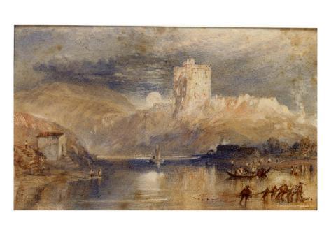 Norham Castle - Moonrise Giclee Print