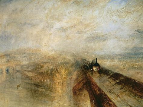 Rain, Steam, and Speed Giclee Print