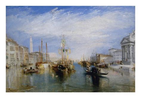 Venice, from the Porch of Madonna Della Salute, Ca. 1835 Art Print