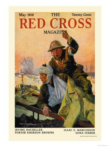 The Red Cross Magazine, May 1918 Art Print