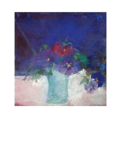 Viola I Art Print