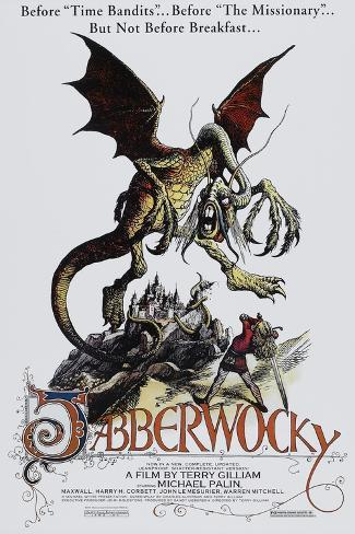Jabberwocky Impressão artística