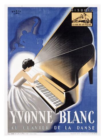 Yvonne Blanc Giclee Print