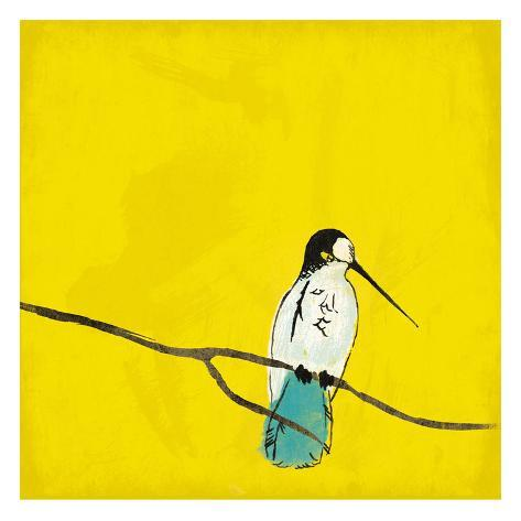 Birds On Branch Art Print