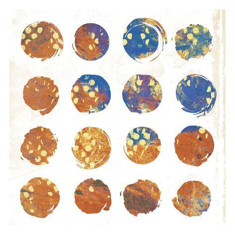 Circle Abstract 3 Art Print