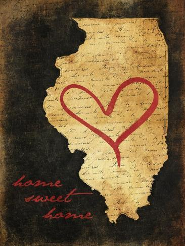 Home Sweet Home IL Art Print
