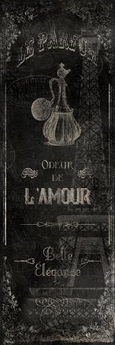 Le Parfum Black Art Print