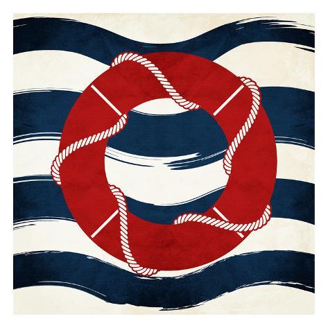 Lifesaver Waves Stampa artistica