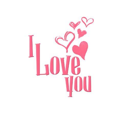 Love Hearts Art Print