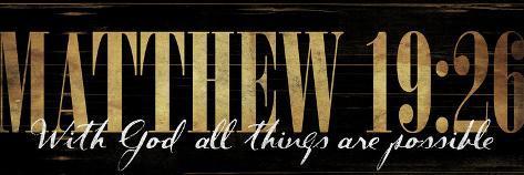 Matthew 19:20 Art Print
