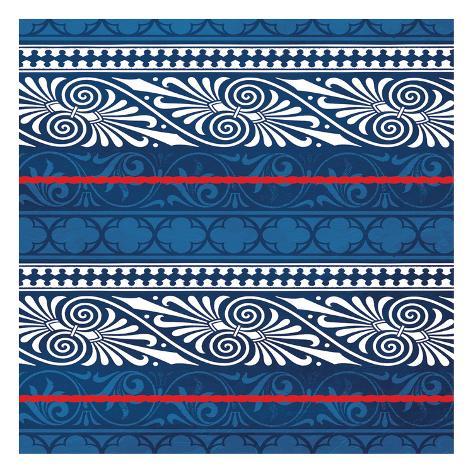 Patterned Sea Art Print