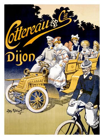 Cottereau, Dijon Giclee Print