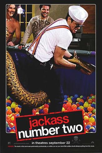 Jack Ass 2 Póster de dos caras