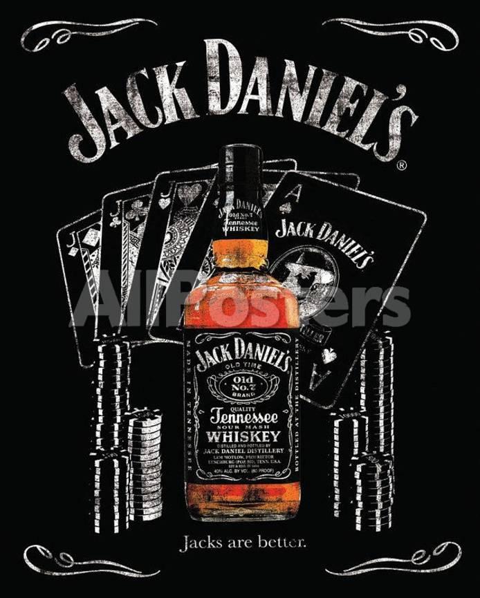Jack Daniels Jacks are Better Poster Láminas en AllPosters.es
