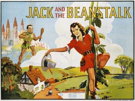 Jack e il fagiolo gigante Stampa giclée