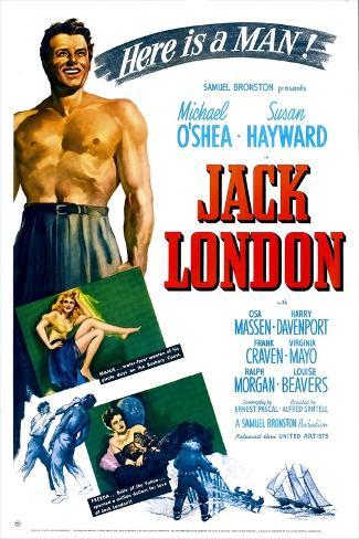 Jack London Art Print
