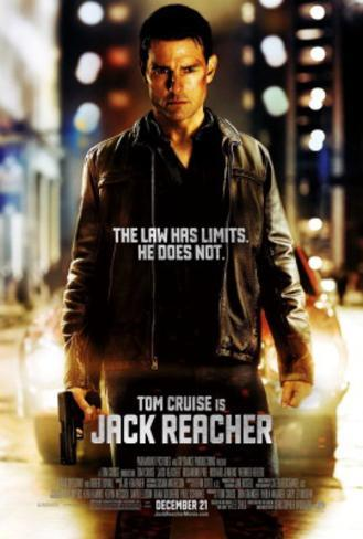 Jack Reacher Movie Poster Poster double face
