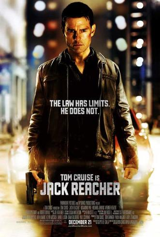 Jack Reacher (Tom Cruise) Movie Poster Masterprint