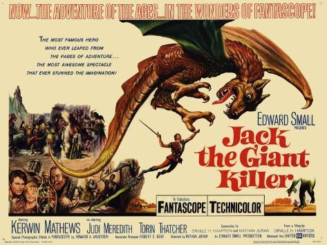 Jack the Giant Killer, 1962 Stampa artistica