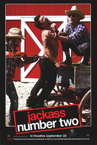 Jackass: Number Two Double-sided poster