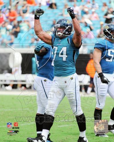 Jacksonville Jaguars - Aaron Kampman Photo Photo