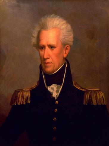 Andrew Jackson Lámina giclée